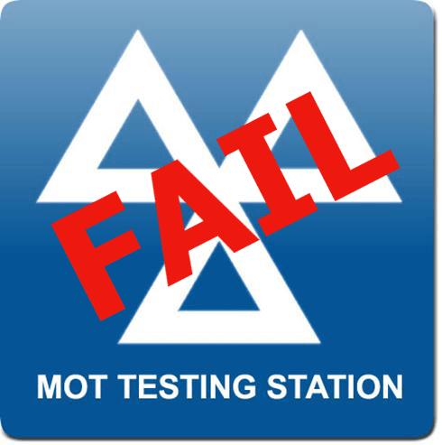 Failed it's MOt